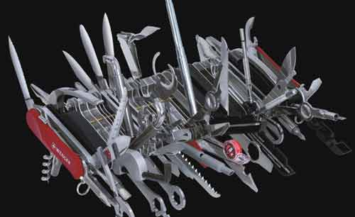 Largest swiss army knife possible