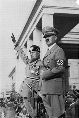 Mussolini withHitler